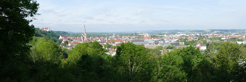 Ausblick Landshut